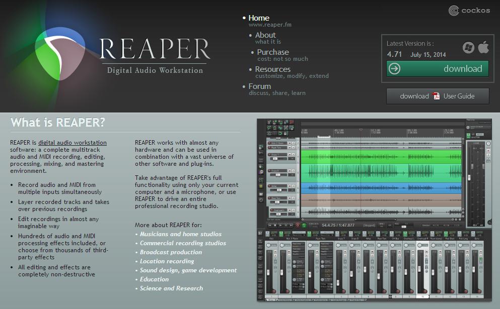 音MADのつくり方――BPMの設定編(REAPER)